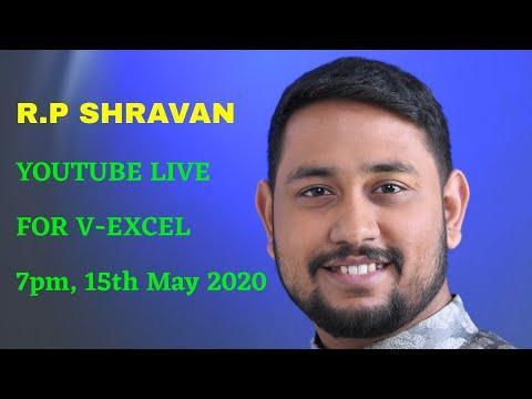 R.P SHRAVAN LIVE