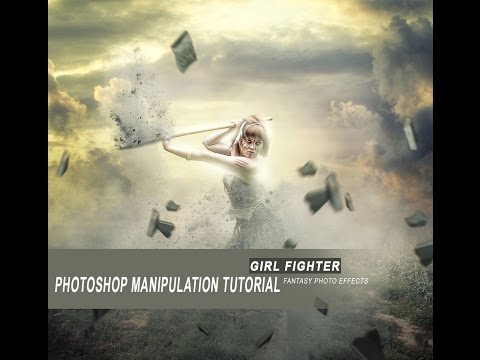 Girl Fighter | Photoshop Manipulation Tutorial | Fantasy Photo Effects