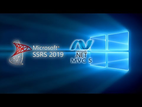 SSRS 2019 Report In ASP Net MVC 5 | DenRic Denise