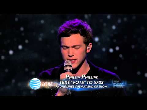 Phillip Phillips We've Got Tonight - Top 3 - American Idol Season 11