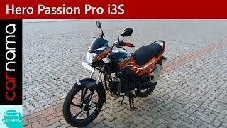 Hero Passion Pro i3S Walkaround, Engine Sound and Motion   carnama