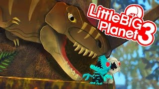 DINOSAUR GIANT SURPRISE EGG OPENING Jurassic World Indominus Rex & T-Rex Toy Unboxing Fun Kids Video