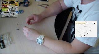 Отводной поводок.  Техника изготовления. Монтаж. Для ловли окуня. Видео 2016 года!!!