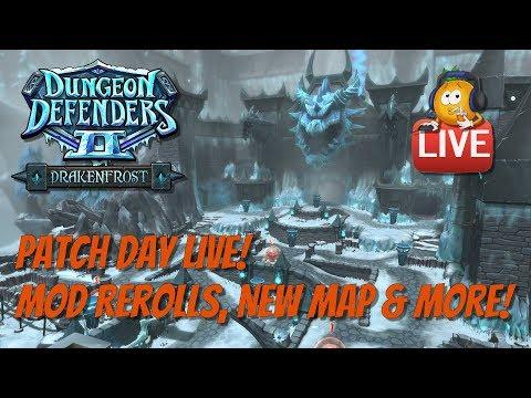 DD2 - Drakenfrost Patch Day Live! Round 2!