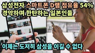 삼성전자 스마트폰 D램 점유율 54%, 경악하며 한탄하…