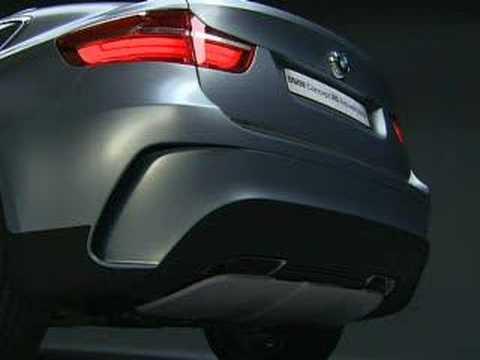BMW Concept X6 ActiveHybrid - YouTube