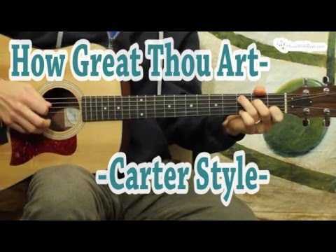 How Great Thou Art - Guitar Lesson