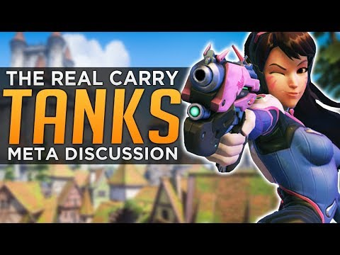 Overwatch: Tanks Carry Games, Not DPS! - Meta Discussion