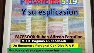 Proverbios 5 19  Viene Con la Explicación de los Versículos