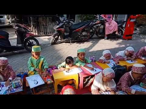 Lomba Mewarnai Tk Dwi Jaya Memperingati Hari Ibu Kita Kartini Youtube