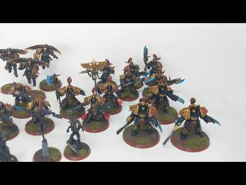 Shadow Keepers Of The Adeptus Custodies Army Show Case