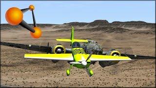 beamng drive strato hmx 920 aerobatic aircraft crash testing 144