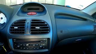 Interior frente Peugeot 206SW