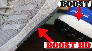 adidas Pulse BOOST HD Technology vs Ultra Boost Review!