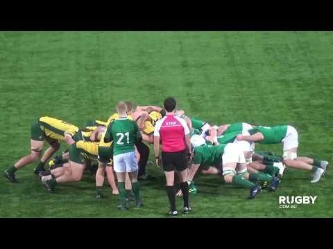 HIGHLIGHTS: Australian Schools & U18 v Ireland U19