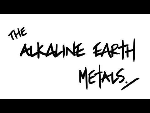 AQA A-Level Chemistry - The Alkaline Earth Metals (Gp. 2)