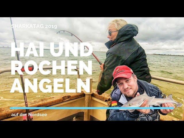Sharkatag 2019 - Hai und Rochen angeln auf der Nordsee