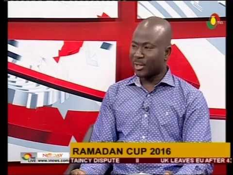 Discussing Ramadan Cup 2016 with Tamimu Issah  - 28/6/2016