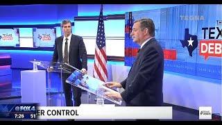 Ted Cruz & Beto O'Rourke head to head debate