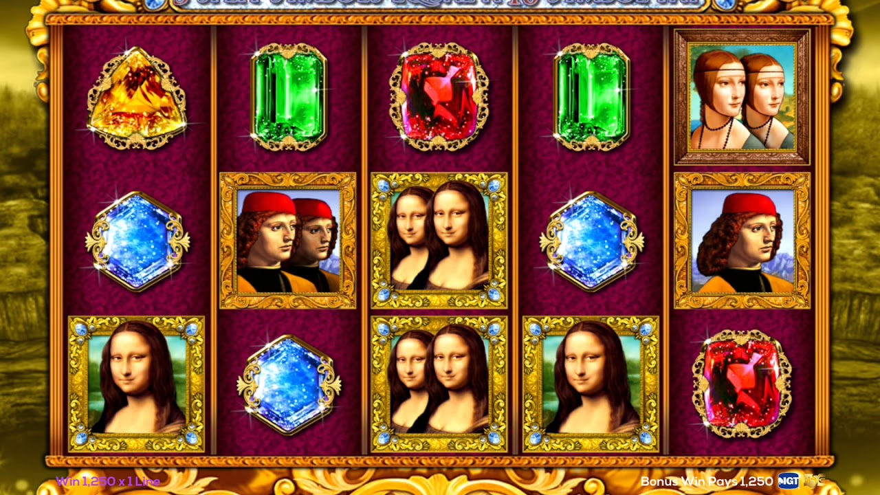 Da vinci diamonds free slot game online