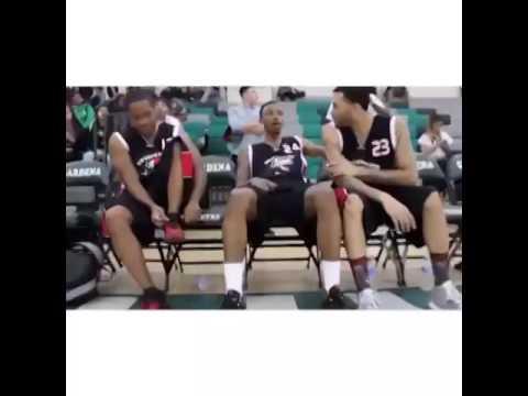 Sam Jones gives back at Celebrity Basketball game at Gardena High School