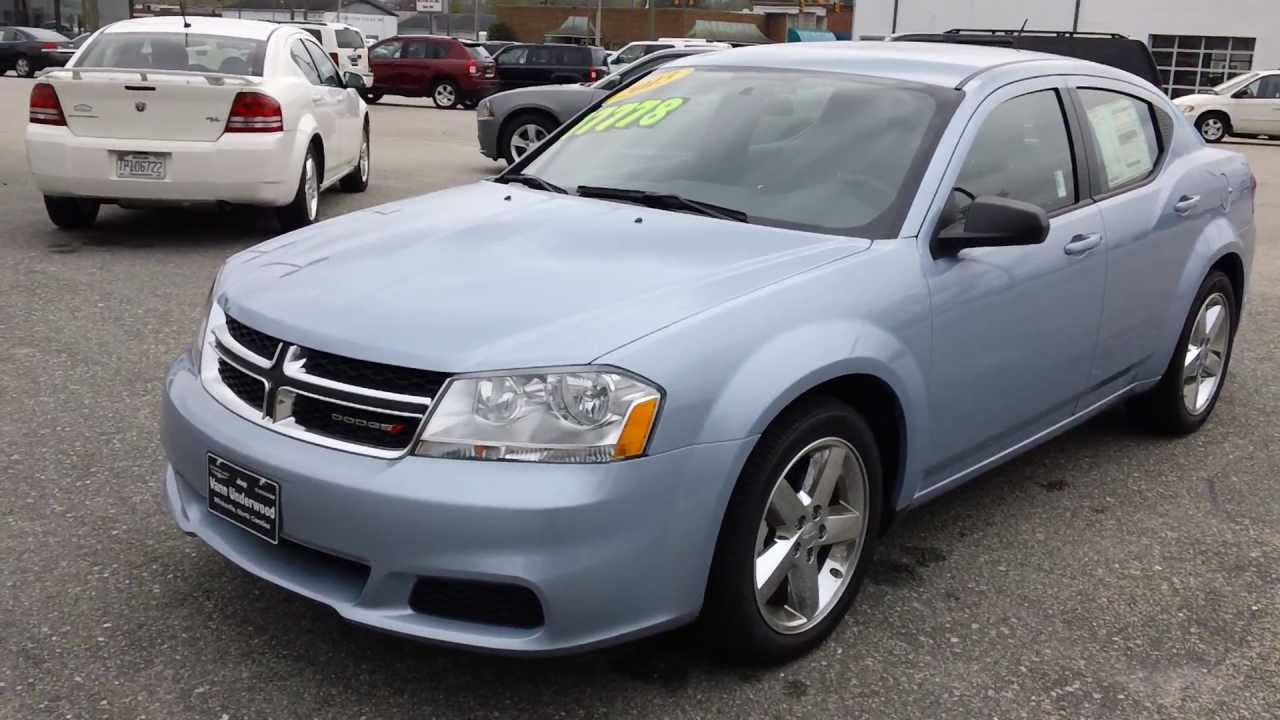 2013 Dodge Avenger Looks Like Baby Blue Youtube