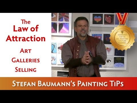 THE LAW OF ATTRACTION ART GALLERIES SELLING