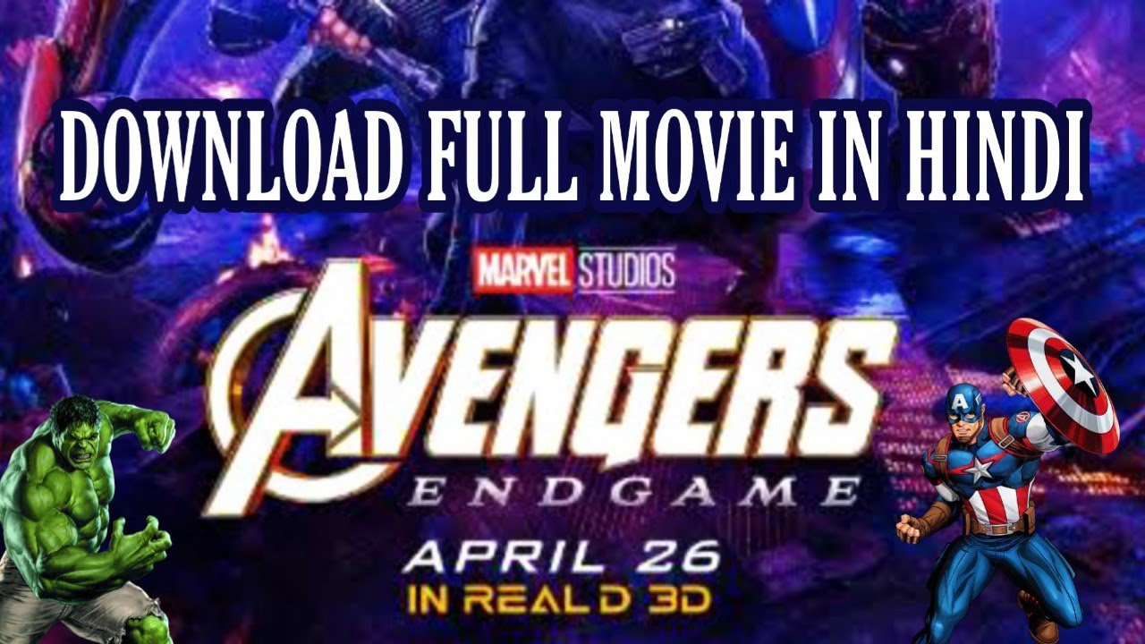 Download How to download Avengers Endgame Full Movie in Hindi | Clear Print | Direct Download | JARVIZ