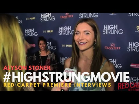 """Alyson Stoner at the Red Carpet Premiere for """"High Strung"""" #HighStrungMovie"""