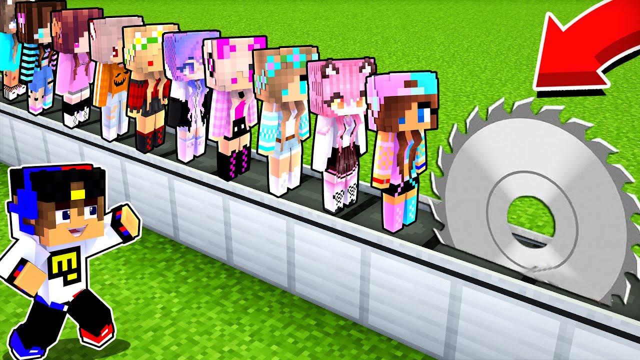 Майнкрафт но Я Затроллил Девушку МОДОМ НА ПРЕВРАЩЕНИЯ в Майнкрафте Троллинг Ловушка Minecraft