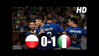 Polonya vs İtalya 0-1 Maç Özeti HD (14/10/2018)