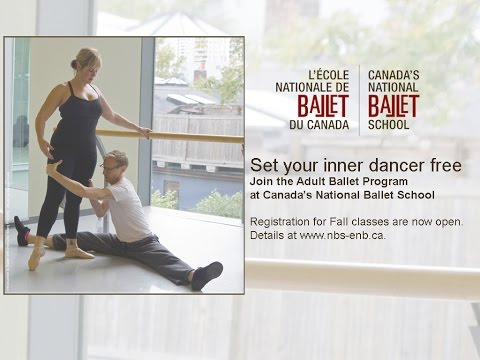 Canada's National Ballet School's Adult Ballet Program Fall 2014