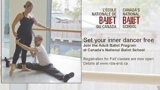 Canada's National Ballet School's Adult Ballet Program Fall 2014
