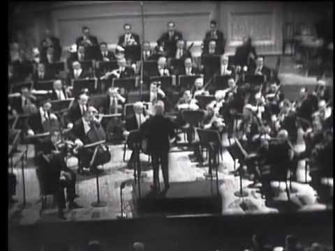 Weber Euryanthe Overture & Brahms Symphony No. 1 - Toscanini, NBC, 3 Nov 1951