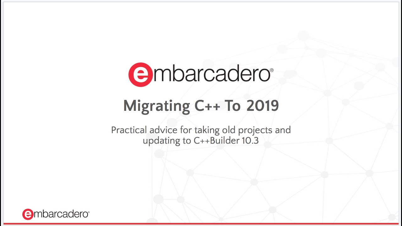 Migration and Upgrade Center - Embarcadero