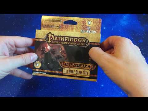 Pathfinder ACG Mummy's Mask - Adventure Deck 1 Unboxing - The Half-Dead City