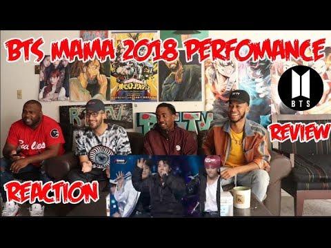 BTS 방탄소년단 Fake Love + Anpanman Performance + INTRO'S @ MAMA 2018 (BTS REACTION)