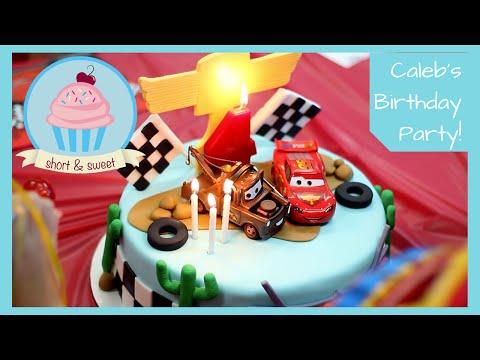 Disney Cars 4th Birthday Cake Cars Rc