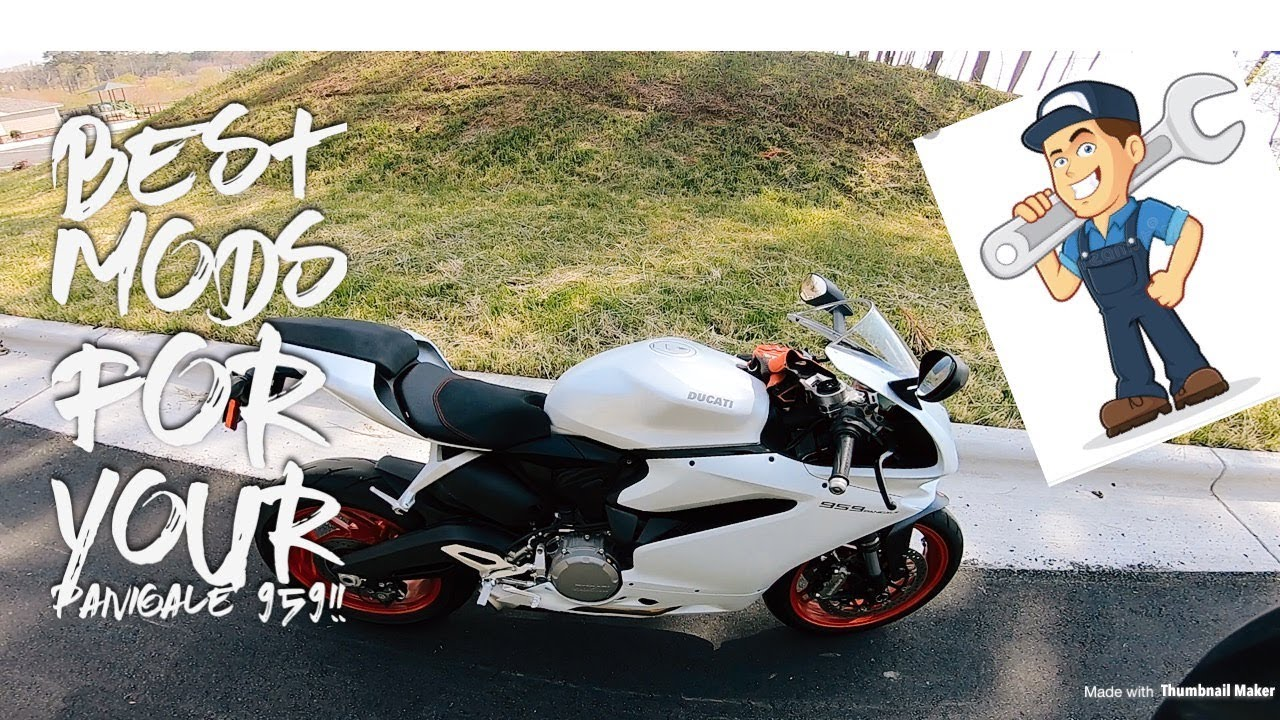 Top Mods For Your Panigale 959 Youtube