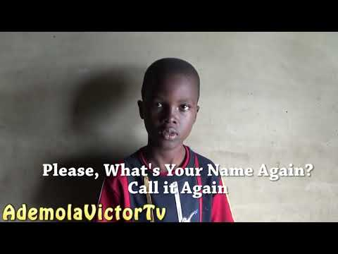 African Child has the longest name!!! I can understand one word!! Zzabolazza