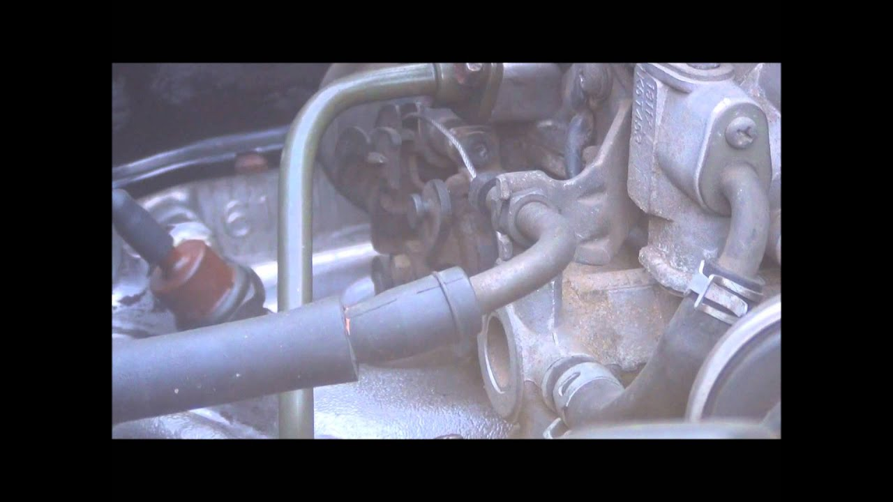 Fast Idle Circuit On A Sidekick Engine In My Suzuki Samurai Youtube 1996 Carry Wiring Diagram