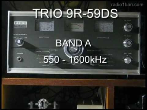 TRIO 9R-59DS BAND A Receiving After Full Restration