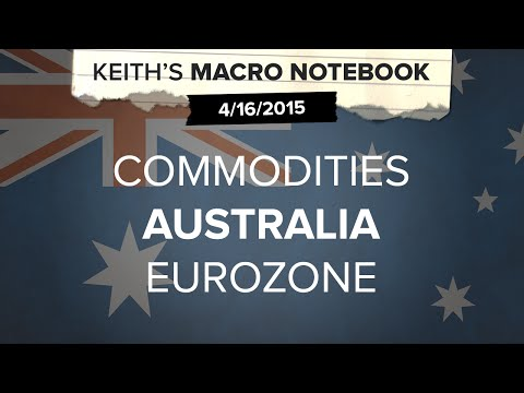 Keith's Macro Notebook 4/16: Commodities | Australia | Eurozone
