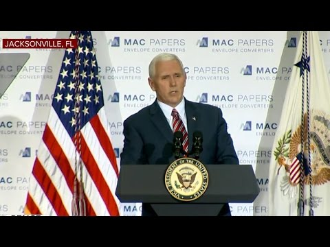 Pence rallies in Florida to replace Obamacare with GOP health care plan
