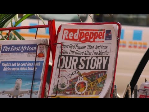 Ugandan newspaper Red Pepper returns to the stands