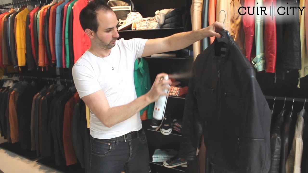 Comment impermeabiliser une veste en cuir