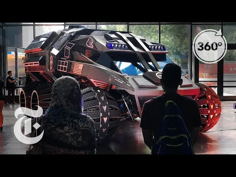 A Ride for the Red Planet | The Daily 360 | The New York Times