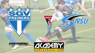 | SGV Freiberg - Neckarsulmer Sport-Union | 11. Spieltag | Oberliga Saison 2018/1