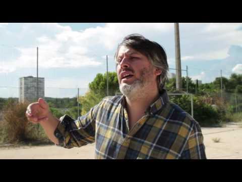 Entretien avec Christophe Honoré dans le décor de son film MÉTAMORPHOSES
