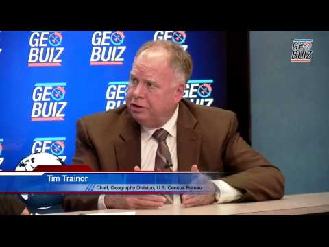 GeoBuiz Exclusive: With Tim Trainor, U.S. Census Bureau
